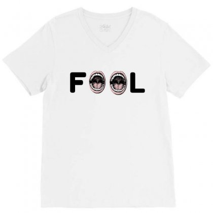 Fool V-neck Tee Designed By Perfect Designers