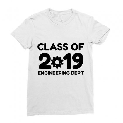 Class Of 2019 Engineering Dept Ladies Fitted T-shirt Designed By Perfect Designers
