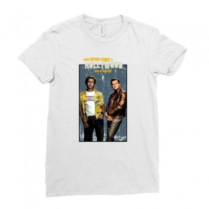 Once Upon A Time In Hollywood Ladies Fitted T-shirt Designed By Gurkan