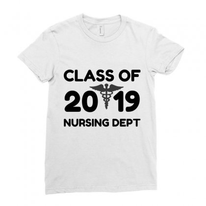 Class Of 2019 Nursing Dept Ladies Fitted T-shirt Designed By Perfect Designers