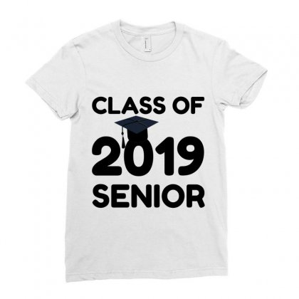 Class Of 2019 Senio Ladies Fitted T-shirt Designed By Perfect Designers
