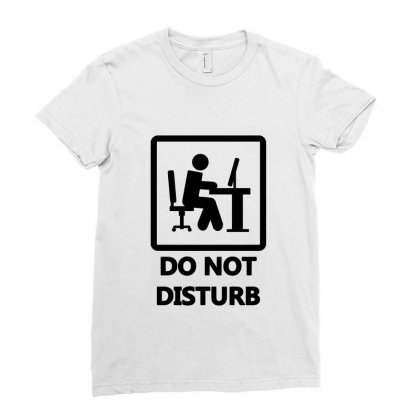 Do Not Disturb   Gaming Ladies Fitted T-shirt Designed By Prince Ali