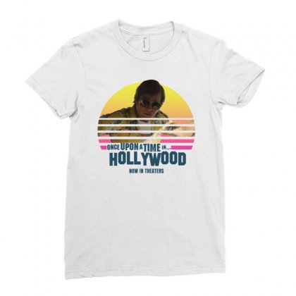 Once Upon A Time In Hollywood Brad Pitt Ladies Fitted T-shirt Designed By Gurkan