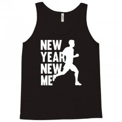 new year new me running fitness Tank Top | Artistshot
