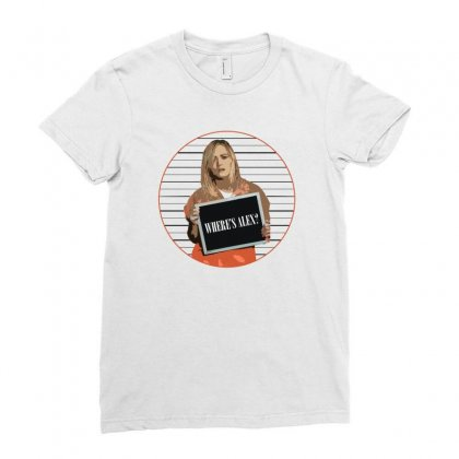 Where Is Alex Ladies Fitted T-shirt Designed By Hasret