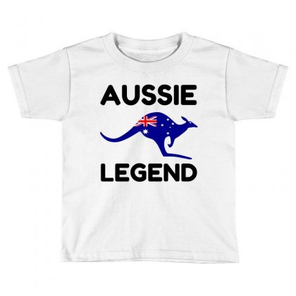 Aussie Legend Toddler T-shirt Designed By Perfect Designers