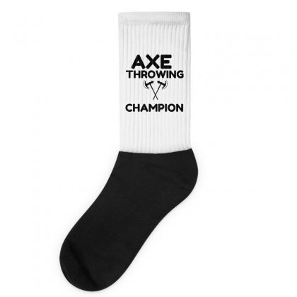 Axe Throwing Champion Socks Designed By Perfect Designers