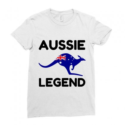 Aussie Legend Ladies Fitted T-shirt Designed By Perfect Designers