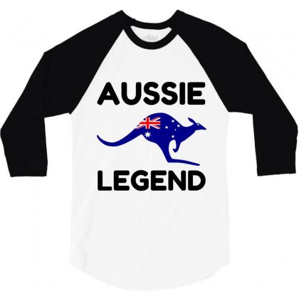 Aussie Legend 3/4 Sleeve Shirt Designed By Perfect Designers