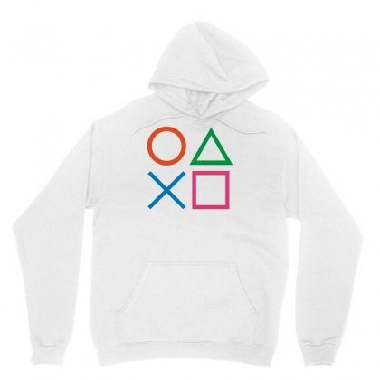 Playstation Controller Ps2 Ps3 Cool Gaming Unisex Hoodie Designed By G3ry