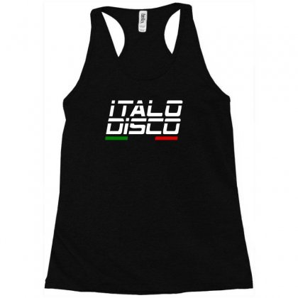 Italy Disco Racerback Tank Designed By Toldo