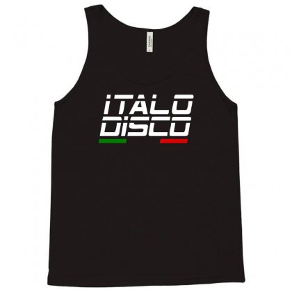Italy Disco Tank Top Designed By Toldo