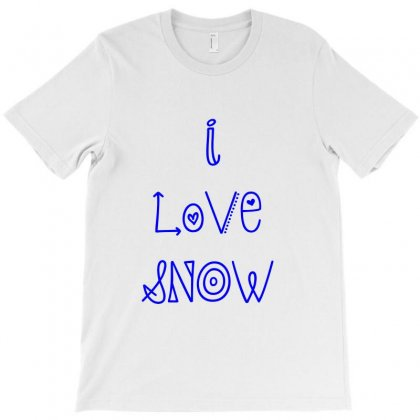 Love Snow T-shirt Designed By Perfect Designers