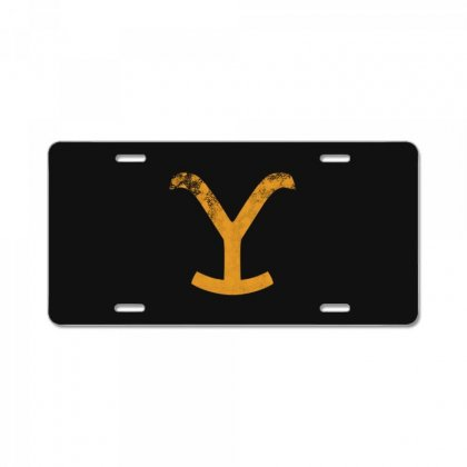 Yellowstone Dutton Ranch License Plate Designed By Kakashop