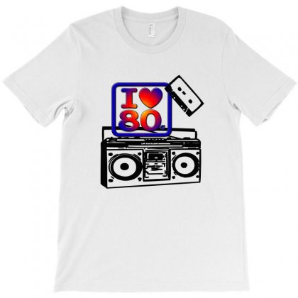 I Love The 80´s V1 T-shirt Designed By Shypost