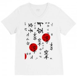 lucas's the karate kid outfit graphic V-Neck Tee | Artistshot