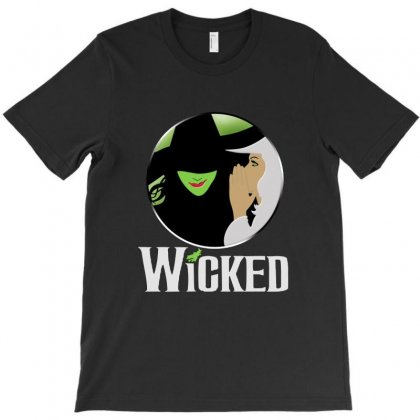 Musical Wicked T-shirt Designed By Pinkanzee