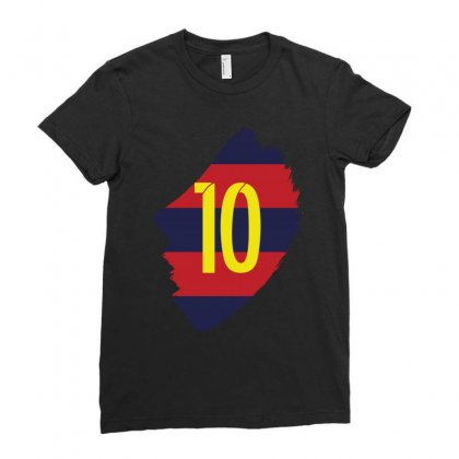 Barcelona Messi Lionel Inside Ladies Fitted T-shirt Designed By Citron