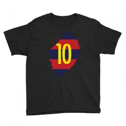 Barcelona Messi Lionel Inside Youth Tee Designed By Citron