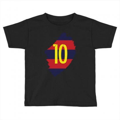 Barcelona Messi Lionel Inside Toddler T-shirt Designed By Citron