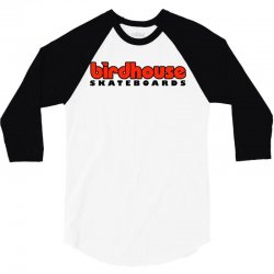 birdhouse skateboards 3/4 Sleeve Shirt | Artistshot