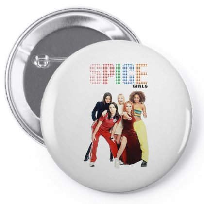 Spice Girls Merch Pin-back Button Designed By Andrianisofi