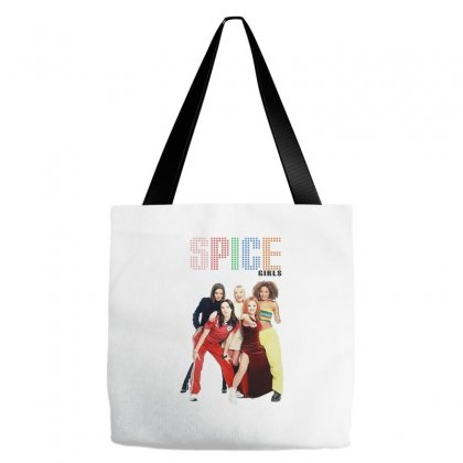 Spice Girls Merch Tote Bags Designed By Andrianisofi
