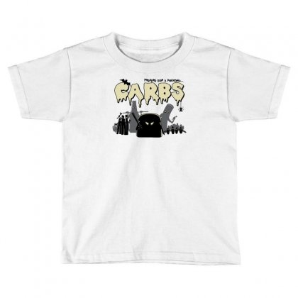 Carbs Are Evil Toddler T-shirt Designed By Ronart