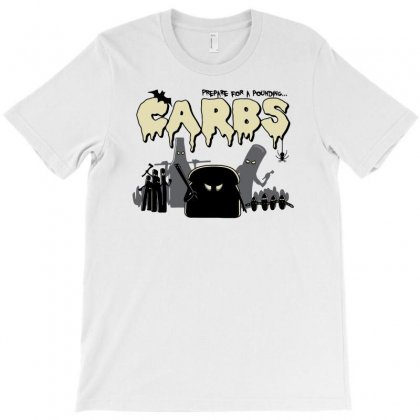 Carbs Are Evil T-shirt Designed By Ronart