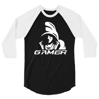 Gamer 3/4 Sleeve Shirt Designed By Trending Design