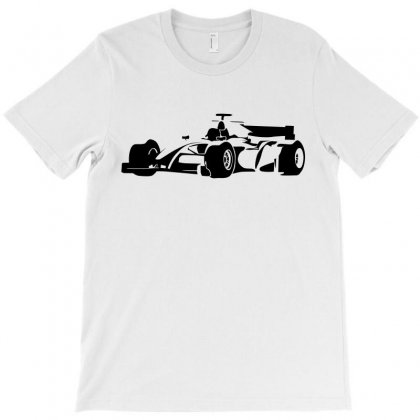 Formula Racing Car Abstract Silhouette T-shirt Designed By Akhtar21