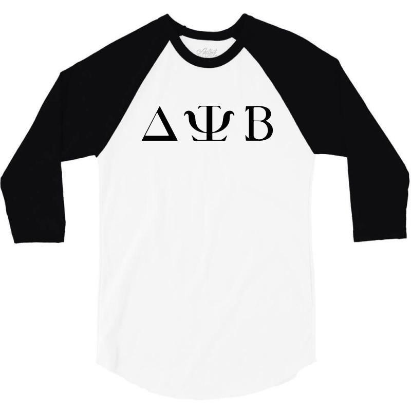 Delta Psi Beta Zac Efron Neighbors   Black 3/4 Sleeve Shirt | Artistshot