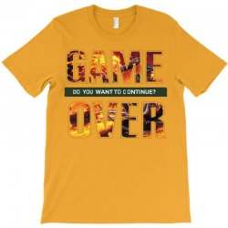 GAME OVER T-Shirt | Artistshot