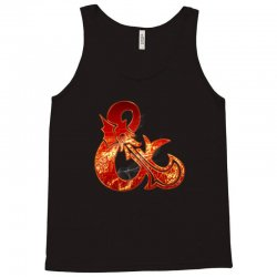 Dungeon and Dragons Fire Tank Top | Artistshot
