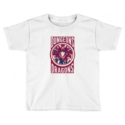 Dungeons And Dragons Toddler T-shirt Designed By Ofutlu