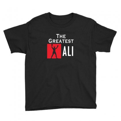 The Greatest Ali Youth Tee Designed By Designby21