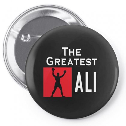 The Greatest Ali Pin-back Button Designed By Designby21