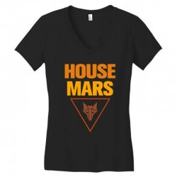 house mars Women's V-Neck T-Shirt | Artistshot