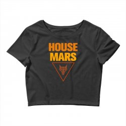 house mars Crop Top | Artistshot