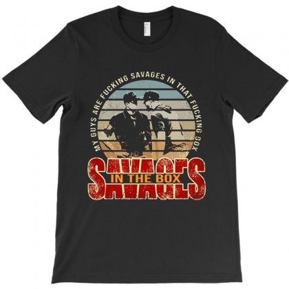 Aaron Boone Savages T-shirt Designed By Blqs Apparel