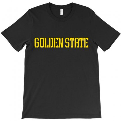 Golden State T-shirt Designed By Akhtar21