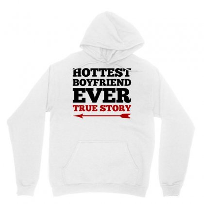 Hottest Boyfriend Ever True Story Couples (black) Unisex Hoodie