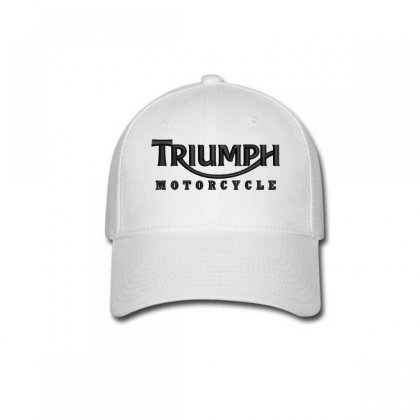 Triumph Motorcycle Embroidered Hat Baseball Cap Designed By Madhatter