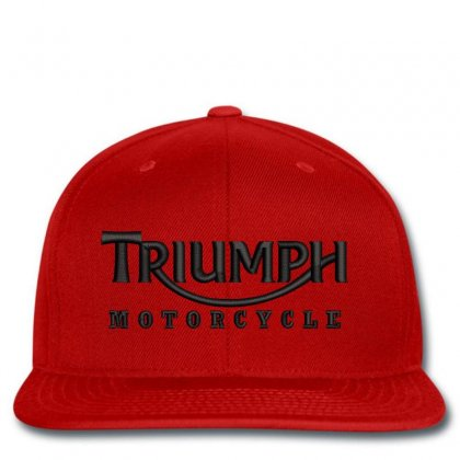 Triumph Motorcycle Embroidered Hat Snapback Designed By Madhatter