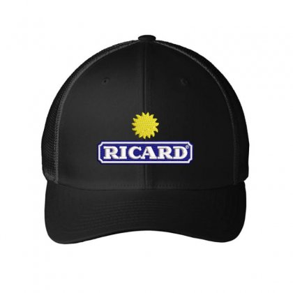 Ricard Embroidered Mesh Cap Designed By Madhatter