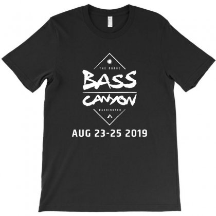 Bass Canyon The Gorge Washington C01 T-shirt Designed By Cuser1898