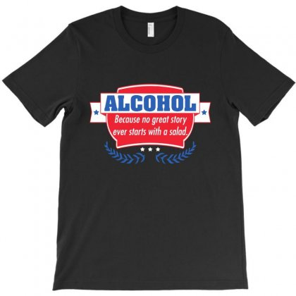 Alcohol T-shirt Designed By Meganphoebe