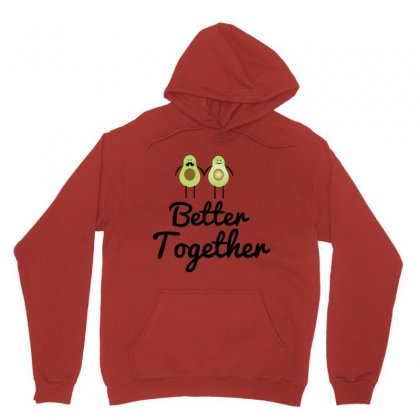 Better Together Avocado Couple Unisex Hoodie