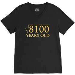funny t shirt for 90 year old t shirt V-Neck Tee | Artistshot