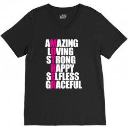 funny t shirt for mothers day V-Neck Tee | Artistshot